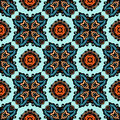 Ethnic seamless pattern tribal style Royalty Free Stock Images