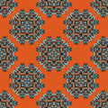 Ethnic seamless pattern vector style illustration Royalty Free Stock Photography