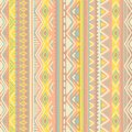 Ethnic seamless pattern. Vertical orientation. Striped print for