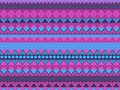 Ethnic seamless pattern, violet and blue color. Tribal textiles, hippie style. For wallpaper, bed linen, tiles, fabrics