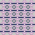Ethnic southwestern navajo pattern. Royalty Free Stock Photo