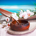 Ethnic spa treatment Stock Images