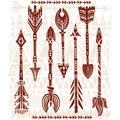 Ethnic tribal arrows