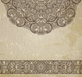 Ethnic vintage ornament background pattern in engineering zentangle Stock Photos