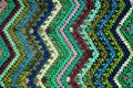Ethnic Zig Zag Fabric Royalty Free Stock Images