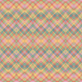 Ethnic zigzag pattern in retro colors aztec style seamless vector Royalty Free Stock Photo