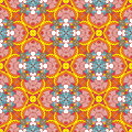 Ethnicity pattern colorful seamless with motif Royalty Free Stock Image