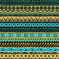 Ethnicity seamless pattern. Boho style. Ethnic wallpaper. Tribal art print. Old abstract borders background texture