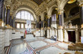 Ethnographic museum interior in budapest hungary april of the of ethnography on april Royalty Free Stock Image