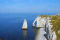 Etretat cliffs Royalty Free Stock Photo