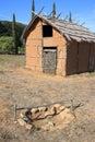 Etruscan dwelling, Populonia near Piombino, Italy Stock Image