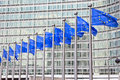 EU building Royalty Free Stock Photo