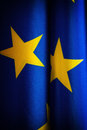 Eu flag of the european union can be used as background Stock Image