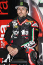 Eugene Laverty Aprilia RSV4 Aprilia Racing Team Royalty Free Stock Photo