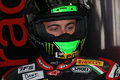 Eugene Laverty Aprilia RSV4 Aprilia Racing Team Royalty Free Stock Photos