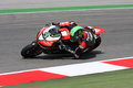 Eugene Laverty Aprilia RSV4 Aprilia Racing Team Royalty Free Stock Images