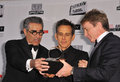 Eugene levy ben stiller left martin short at the th annual american cinematheque awards ceremony honoring at the Royalty Free Stock Photo
