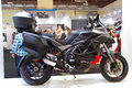 Eurasia moto bike expo ducati granturismo in on march in istanbul turkey Royalty Free Stock Image