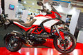 Eurasia moto bike expo ducati multistrada s in on march in istanbul turkey Royalty Free Stock Images