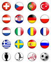 Euro 2008 european championship Royalty Free Stock Photography