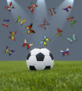 Euro 2012 Royalty Free Stock Photos