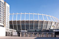 EURO 2012: Olympisky Stadium in Kiev, Ukraine Royalty Free Stock Photography