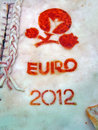Euro 2012 symbols on salo, food diversity, Stock Images