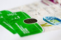 EURO 2012 tickets Royalty Free Stock Photography