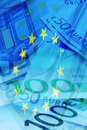 Euro background Royalty Free Stock Photo