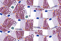 Euro bank notes background five hundred on Stock Photography