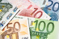 Euro banknotes Stock Photos