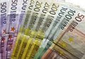 Photo : Euro bills value  euro