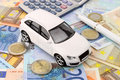 Euro Car Finance Stock Photos