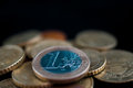 Euro Coins. Royalty Free Stock Photo