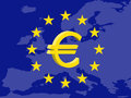 Euro currency Royalty Free Stock Image