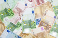 Euro currency background Stock Images