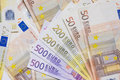 Euro currency money Stock Photos