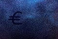 Euro currency symbol Royalty Free Stock Photo