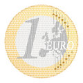 Euro e-payment Royalty Free Stock Photo