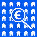 Euro housing market Royalty Free Stock Images