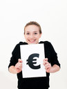 Euro mark Royalty Free Stock Photos