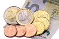 8,84 Euro minimum wage in Germany Royalty Free Stock Photo