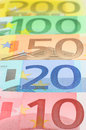 Euro money Stock Image