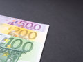 Euro money abstract Royalty Free Stock Photo