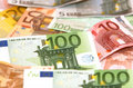 Euro money backround Royalty Free Stock Photos