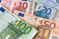 Euro money european union currency notes Stock Photo