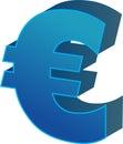 Euro munt Stock Afbeelding