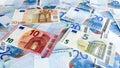 Euro Notes Money Background
