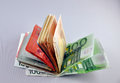 Euro notes Royalty Free Stock Photo