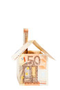 Euro real estate Royalty Free Stock Image